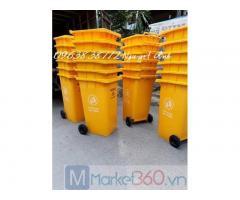 Các loại thùng rác nhựa hdpe.