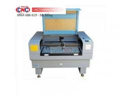Máy laser 6090 cắt vải, cắt khắc da, gỗ