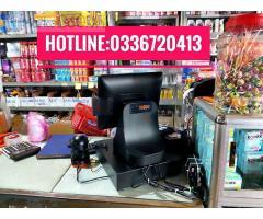 Bán máy tính tiền giá rẻ cho cửa hàng tạp hóa tại Tiền Giang
