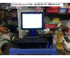 Combo máy tính tiền cảm ứng cho tạp hóa Hà Nam giá rẻ