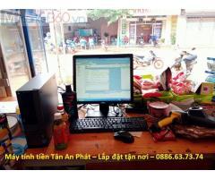 Máy tính tiền tại Hà Nam lắp đặt cho quán tạp hóa giá rẻ