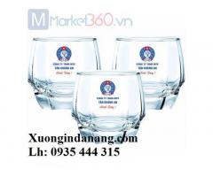 Cung cấp ly thủy tinh in logo uy tín chất lượng tại Huế