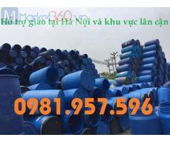 Phuy nhựa 50L, phuy nhựa 70L, phuy nhựa 120L, phuy nhựa 150L