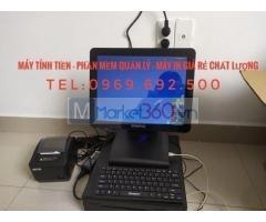 Máy tính tiền giá rẻ cho quán trà trái cây ở Tây Ninh