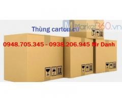 Thùng carton dùng chuyển nhà quy cách như thế nào?