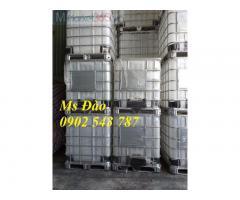 Bồn nhựa 1000 lít ,tank nhựa ibc 1000 lít ,thùng nhựa 1000 lít