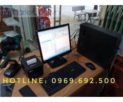 Máy tính tiền cho shop áo khoác ở Hậu Giang giá rẻ