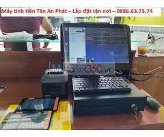 Lắp máy tính tiền cho quán ăn đặc sản miền tại Sơn La