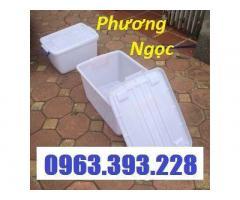 Thùng nhựa DA15, thùng nhựa DA30, hộp nhựa có nắp, thùng nhựa đa năng