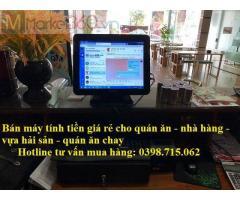 Chuyên bán máy tính tiền giá rẻ cho quán ăn nhanh, nhà hàng tại Phú Quốc