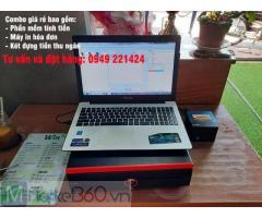 Máy tính tiền giá rẻ cho khách sạn - nhà nghĩ tại Hà Tiên