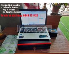 Chuyên máy tính tiền cho tiệm nail tại Hà Tiên giá rẻ