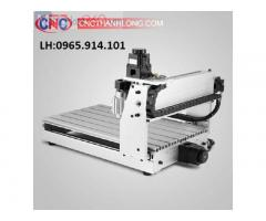 Máy CNC mini 3040 khung thép đúc