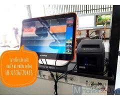 Combo máy tính tiền cho các quán nước trái cây tại Trà Vinh giá rẻ