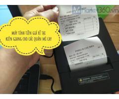 Máy tính tiền giá rẻ cho quán mì cay ở Trà Vinh