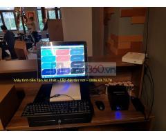 Bán máy tính tiền tại Hòa Bình cho quán cháo ếch/cháo gà