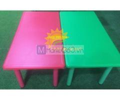 Bàn ghế nhựa , bàn ghế gỗ cho bé mầm non