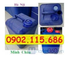 Can nhựa, can nhựa 20 lít, can 20 lít, giá can nhựa 20 lít, can nhua 20 lit, can nhựa 20l,