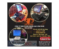 Trọn bộ máy tính tiền cho quán ăn tại Nghệ An giá rẻ