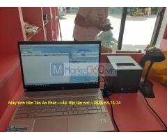 Combo máy tính tiền giá rẻ cho shop mỹ phẩm tại Bến Tre