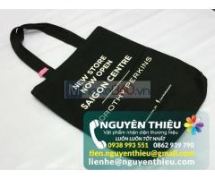 Cơ sở nhận đặt sản xuất túi vải không dệt giá rẻ Hcm, sản xuất túi vải không dệt in logo quảng cáo,