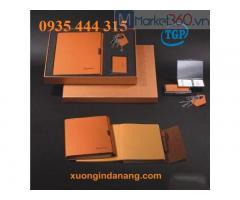 Sản xuất sổ tay in logo, quà tặng doanh nghiệp ở Quảng Bình