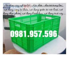 Sọt công nghiệp 3T1, sọt nhựa đựng trái cây 3T1