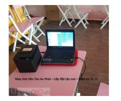 Combo máy tính tiền giá rẻ cho quán trà sữa Cà Mau
