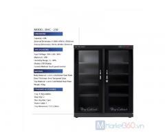 Tủ chống ẩm DHC 250 bảo quản trang thiết bị vật tư ngành ảnh