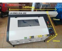 Máy laser 6040, máy laser khắc hoa quả, máy laser cắt khắc