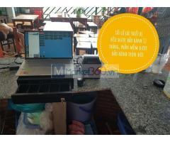 Cung cấp lắp đặt trọn bộ máy tính tiền cho quán mì cay ở Ninh Thuận
