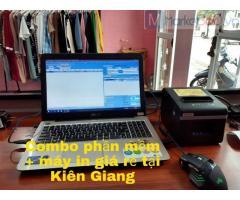 Combo máy tính tiền ở Ninh Thuận giá rẻ cho Shop Quần Áo