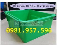 Hộp nhựa công nghiệp A3, thùng nhựa đặc A3, khay linh kiện