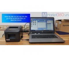 Máy tính tiền ở Cà Mau cho cửa hàng Vật Liệu giá rẻ
