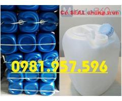 Can nhựa HDPE 20L, can đựng hóa chất mạnh