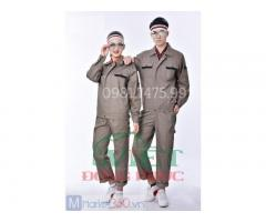 Công ty may quần áo bảo hộ lao động giá rẻ, đẹp, chuẩn mẫu y hình 100%
