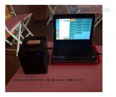 Combo máy tính tiền giá rẻ cho quán trà sữa Hải Dương
