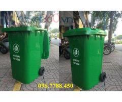 Thùng rác nhựa 240lit/120lit/660lit/100lit giá sỉ