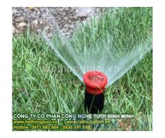 Hệ thống tưới, hệ thống tưới thông minh,hệ thống tưới sân vườn, hệ thống tưới cảnh quan, hệ thống tưới công viên
