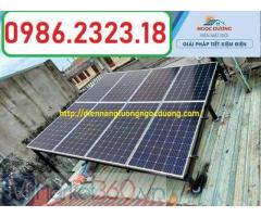 Hệ thống điện năng lượng mặt trời hòa lưới 3kw,combo hệ thống điện NLMT hòa lưới,báo giá hệ thống đi