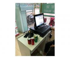 Bán máy tính tiền cảm ứng tại Sài Gòn cho siêu thị Mini