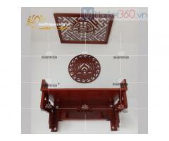 Mẫu bàn thờ treo đẹp với đa dạng mẫu mã kích thước