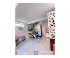 An cư tại nhà mới đường Nơ Trang Long P11 Bình Thạnh 48m2 chỉ 4tỷ