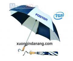 Sản xuất Dù cầm tay in logo quà tặng khách hàng ở Quảng Nam