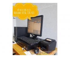 Máy tính tiền cho cửa hàng tôn tại Sài Gòn giá rẻ