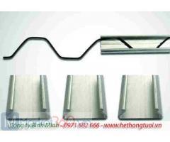 Nẹp nhà kính, cung cấp thanh nẹp nhà kính, chuyên cung cấp nẹp cài zigzag cho nhà kính, nẹp zigzag giá rẻ