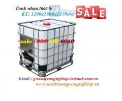 Tank nhựa 1000 lít - VX