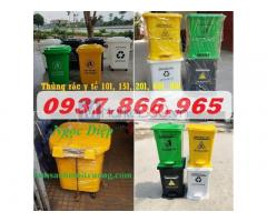 Thùng đựng rác thải Y tế các loại 10 lít/ 15 lít/ 20 lít/ 60 lít/ 90 lít
