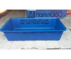 Thùng nhựa lớn nuôi cá cảnh 2000lit/1100lit/750lit giá sỉ