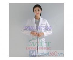 Nhận may quần áo bác sĩ đẹp, mẫu mã, đa dạng, giá rẻ nhất Hà Nội